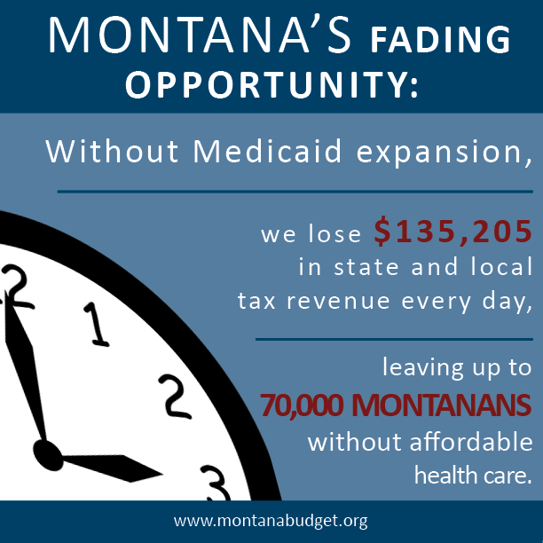 Montana Can't Wait for Medicaid Expansion